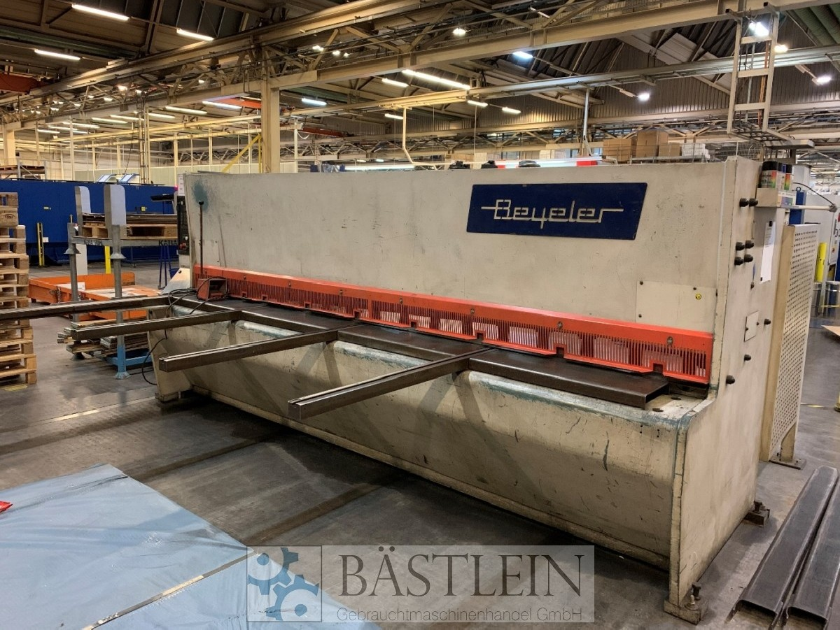 Hydraulic guillotine shear  BEYELER VR 6,5 x 4080 photo on Industry-Pilot
