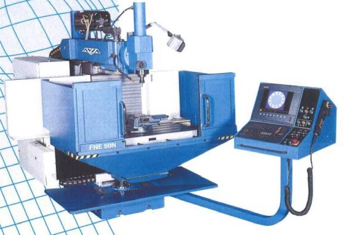 Toolroom Milling Machine - Universal AVIA FNE 50N photo on Industry-Pilot