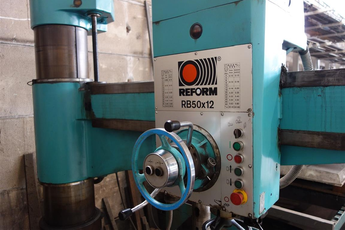 Радиально-сверлильный станок Reform RB50x12 фото на Industry-Pilot