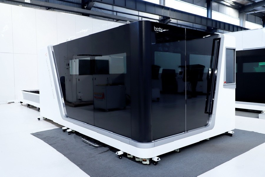 Laser Cutting Machine BODOR P3015 4kW IPG photo on Industry-Pilot