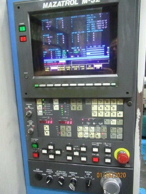 Обрабатывающий центр - горизонтальный MAZAK H 400 N фото на Industry-Pilot