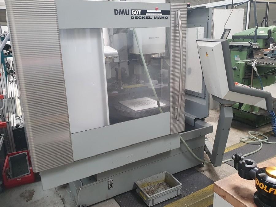 Обрабатывающий центр - универсальный DECKEL MAHO DMU 50 T фото на Industry-Pilot