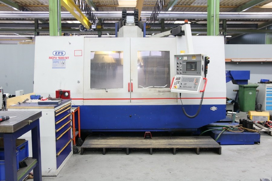 Machining Center - Vertical ZPS DEPO MCFV 1680 NT photo on Industry-Pilot