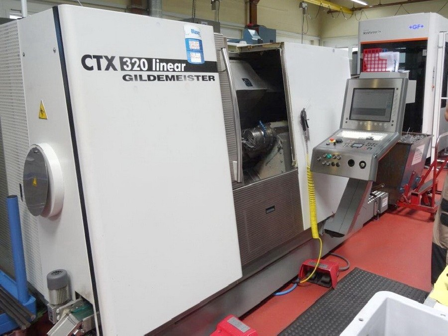 CNC Turning and Milling Machine GILDEMEISTER CTX 320 linear V6 photo on Industry-Pilot