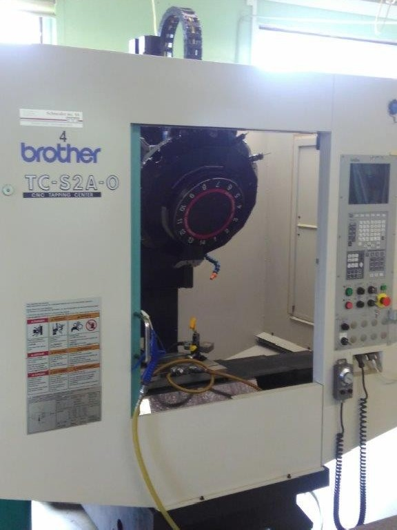 Machining Center - Vertical BROTHER TC S 2A-0 photo on Industry-Pilot
