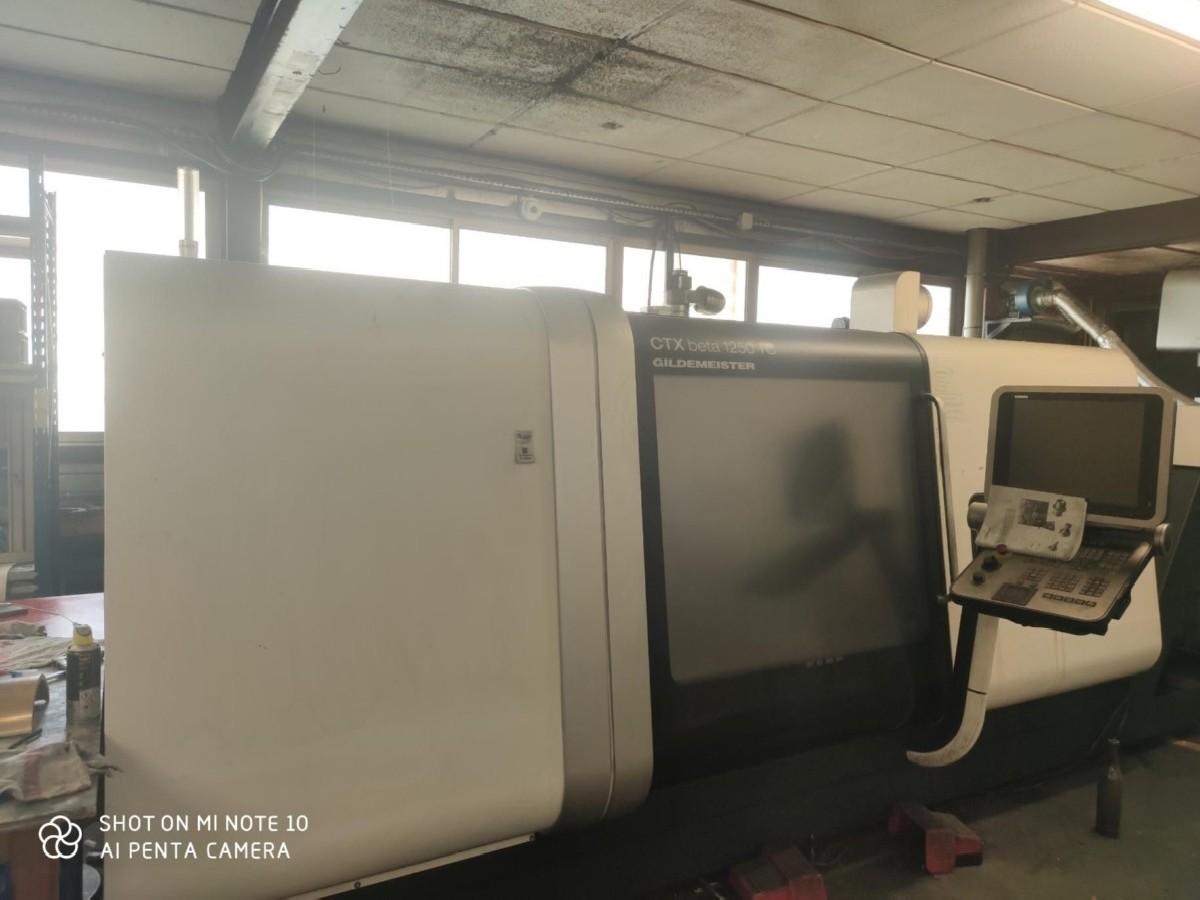 CNC Turning and Milling Machine DMG MORI CTX beta 1250 TC photo on Industry-Pilot