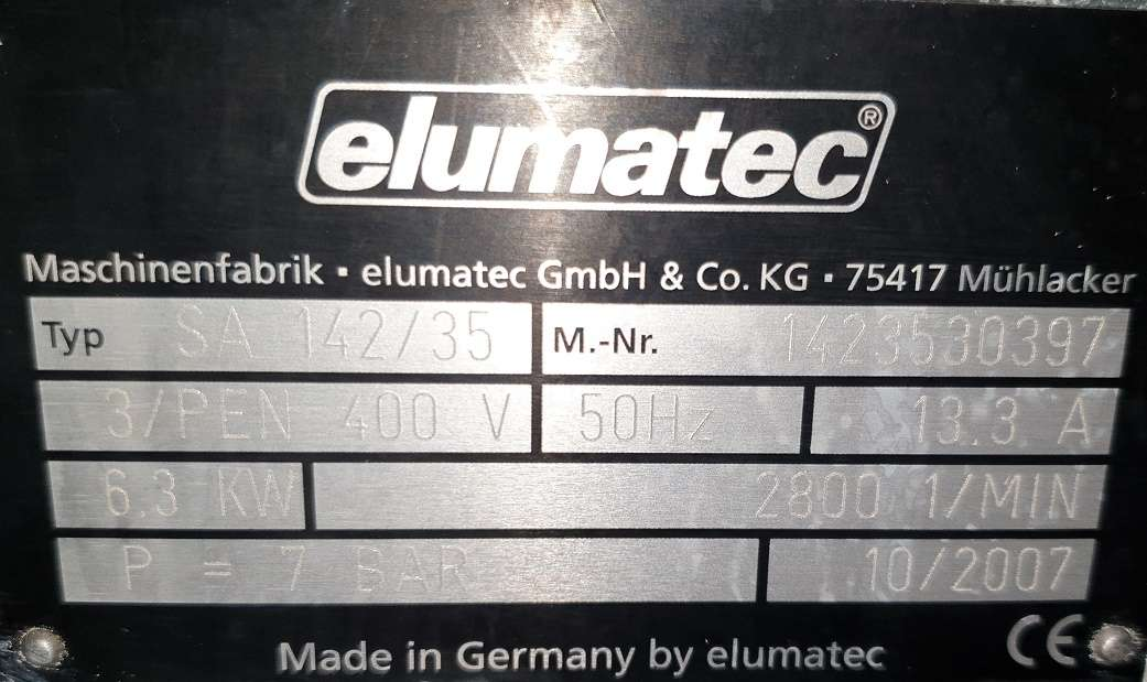 Circular saw/automatic - for aluminium, plastic, wood Elumatec SA 142-35 photo on Industry-Pilot