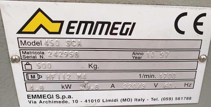 Дисковая пила - для алюминия, пластика, дерева Emmegi 450 SCA фото на Industry-Pilot