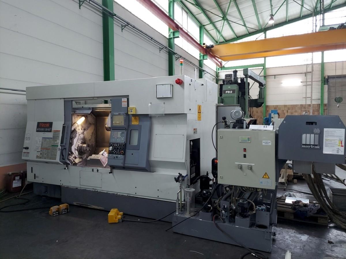 Токарно фрезерный станок с ЧПУ MAZAK Integrex 200 III ST фото на Industry-Pilot