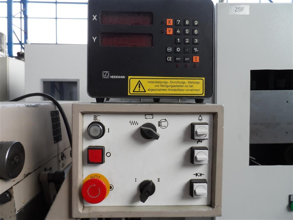 Milling Machine - Universal WMW Ruhla FUW 200-II photo on Industry-Pilot