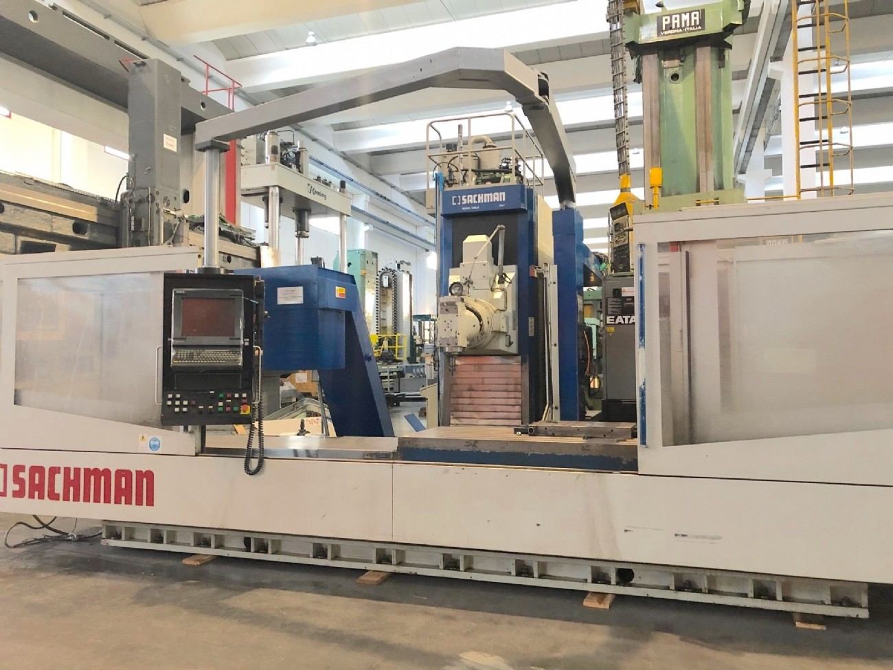 Bed Type Milling Machine - Universal SACHMAN TS10 photo on Industry-Pilot