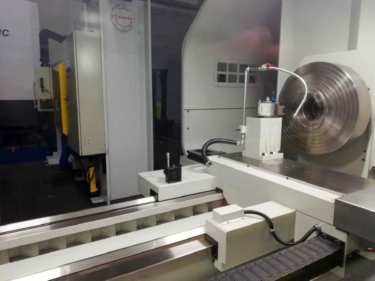 Токарный станок с ЧПУ SFM HL 1270 x 2000 (3000- 7000) фото на Industry-Pilot