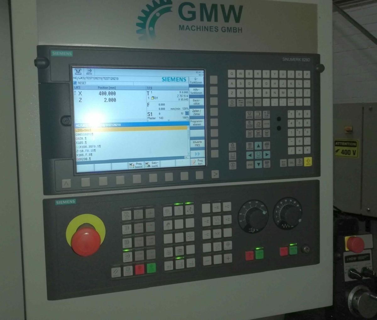 CNC Turning Machine SFM HL 1620 x 2000 (3000- 8000) photo on Industry-Pilot