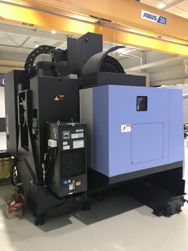 Обрабатывающий центр - вертикальный DOOSAN DNM 5700 фото на Industry-Pilot