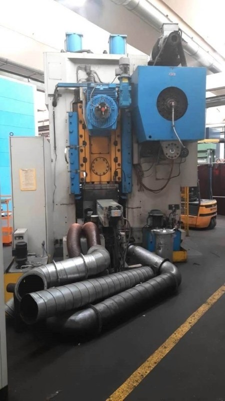 Кривошипно-коленный пресс - двухстоечный BARNAUL KB 8342 B фото на Industry-Pilot