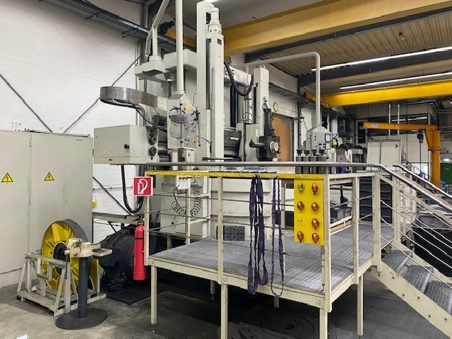 Vertical Turret Lathe - Single Column SCHIESS 20 DKE 180 Digitalanzeige photo on Industry-Pilot