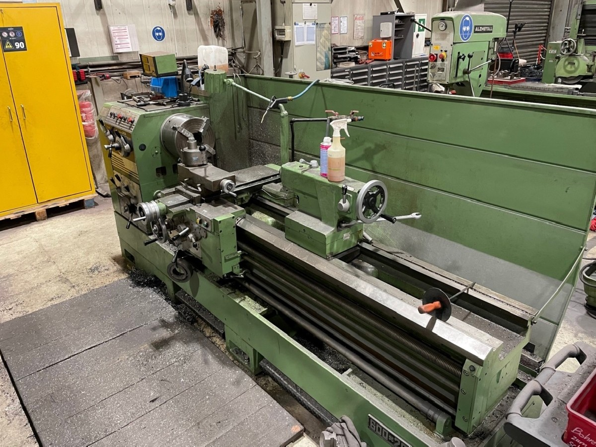 Screw-cutting lathe Charles Swung 600 x 1840 photo on Industry-Pilot