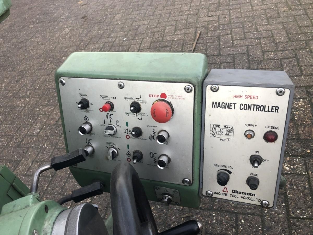 Плоско шлифовальный станок - гориз. OKAMOTO PSG 63 фото на Industry-Pilot