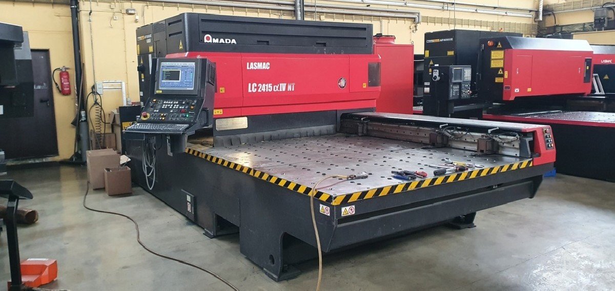 Laser Cutting Machine AMADA LC 2415 Alpha 4 NT photo on Industry-Pilot