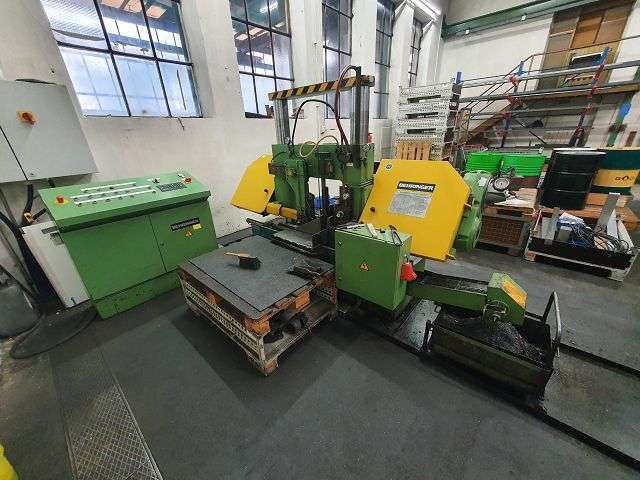 Bandsaw metal working machine - Automatic BEHRINGER HBP 420 A photo on Industry-Pilot