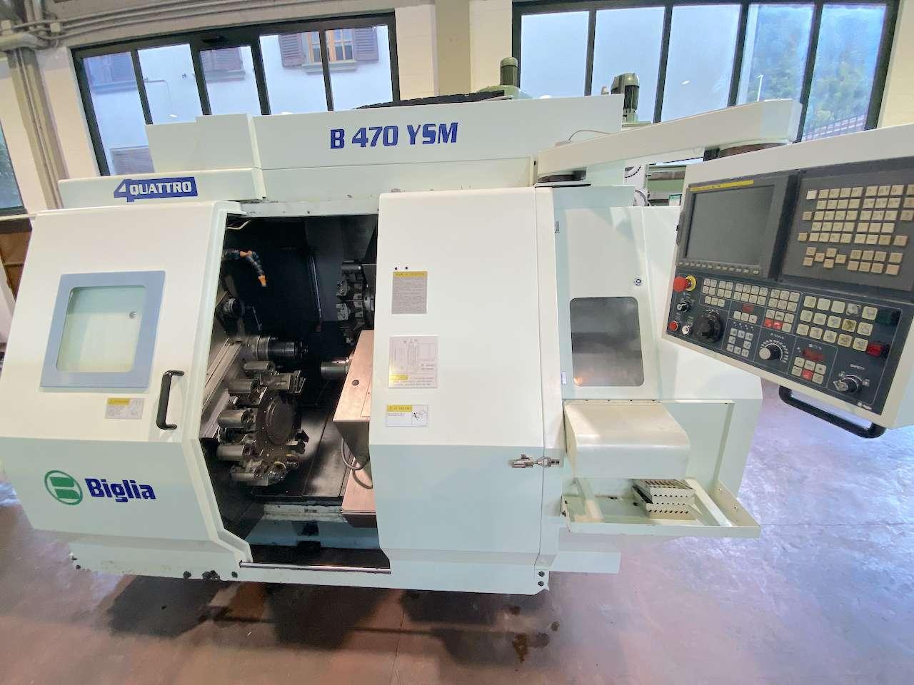 CNC Turning Machine BIGLIA B470 YSM photo on Industry-Pilot