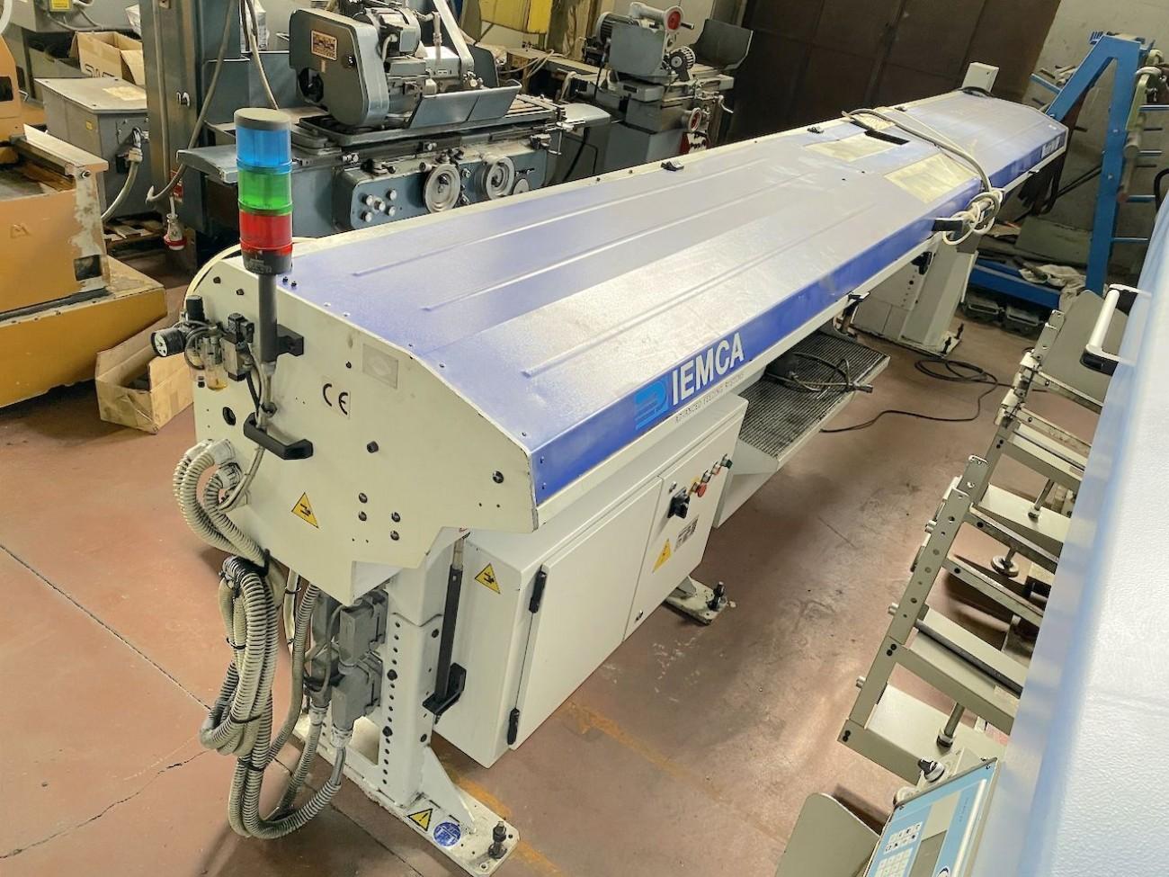 Податчик прутка IEMCA MASTER 880 фото на Industry-Pilot
