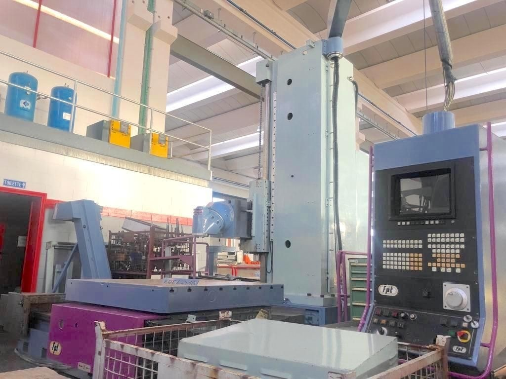 Bed Type Milling Machine - Universal FPT AREA T 10 photo on Industry-Pilot