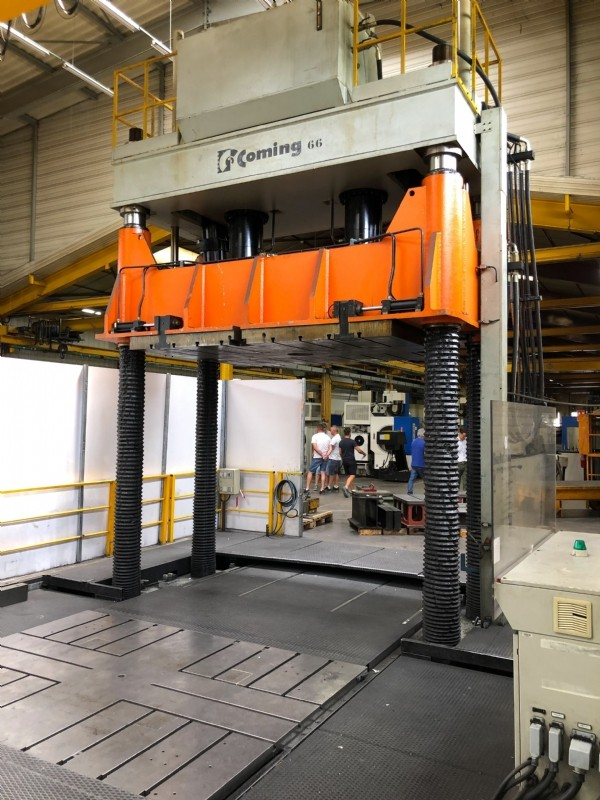 Hydraulic Press COMING PPS 250T photo on Industry-Pilot