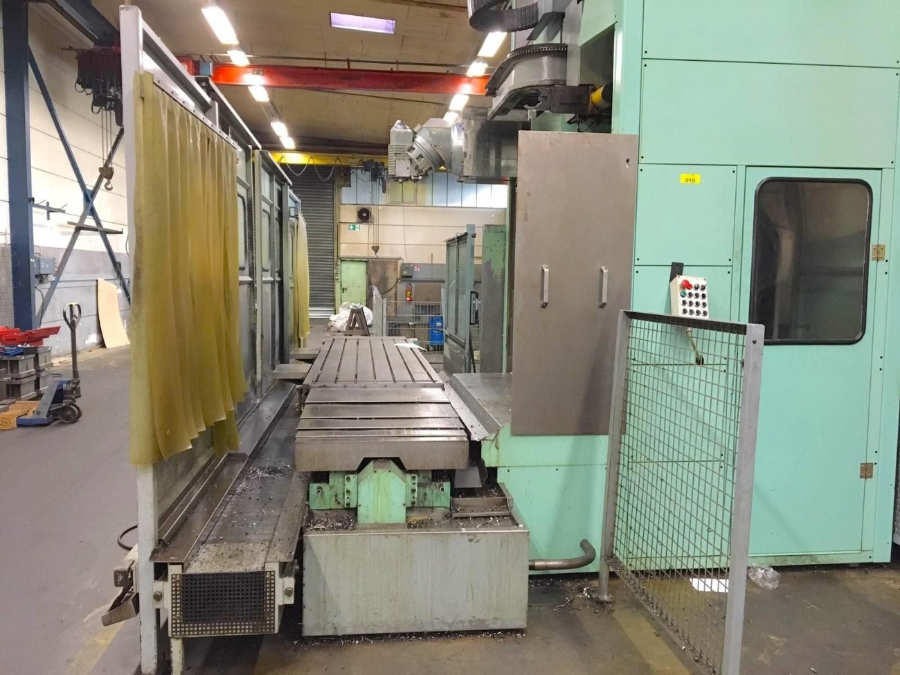 Bed Type Milling Machine - Vertical FPT LEM 936 photo on Industry-Pilot