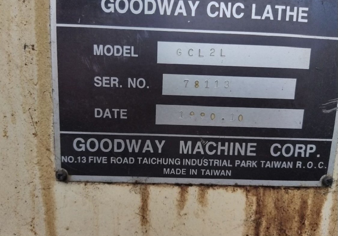 CNC Turning Machine - Inclined Bed Type GOODWAY GCL-2L photo on Industry-Pilot