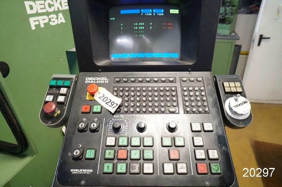 Инструментальный фрезерный станок - универс. DECKEL FP 3 A / Dialog 11 фото на Industry-Pilot