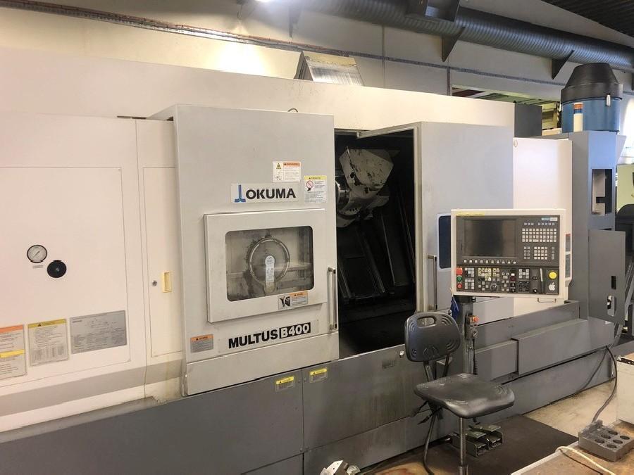 CNC Turning and Milling Machine OKUMA Multus B 400 C 1500 BigBore photo on Industry-Pilot