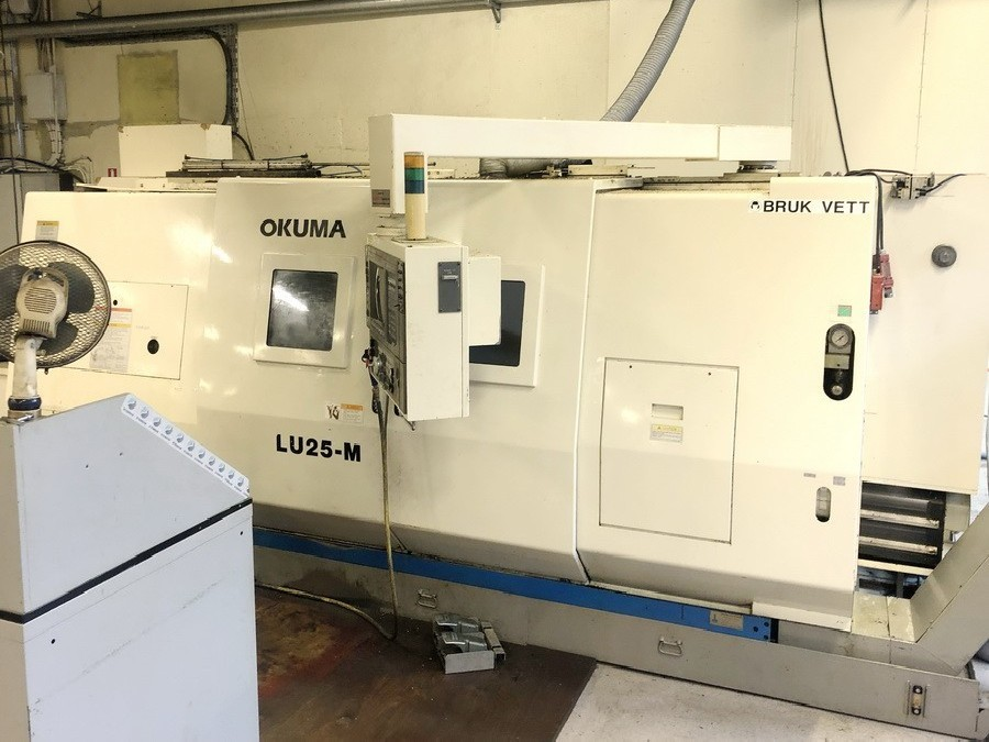 CNC Turning and Milling Machine OKUMA LU 25 M photo on Industry-Pilot