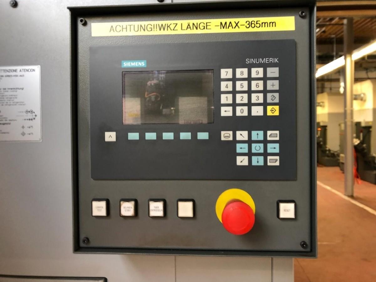 Обрабатывающий центр - вертикальный CHIRON Mill 800 high speed five axis фото на Industry-Pilot