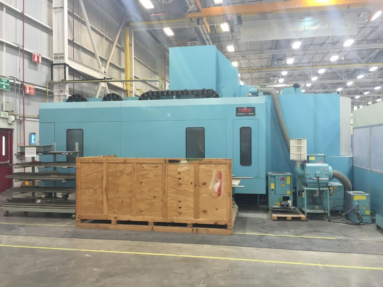 Machining Center - Universal MAZAK INTEGREX e-1060V/8 photo on Industry-Pilot