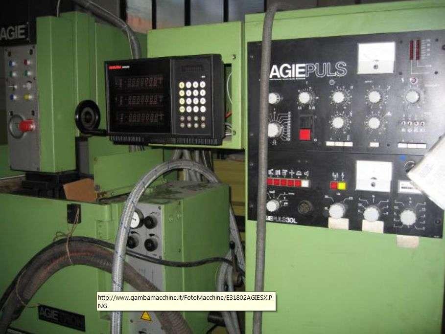 Прошивочный электроэрозионный станок AGIE EMS 2 фото на Industry-Pilot