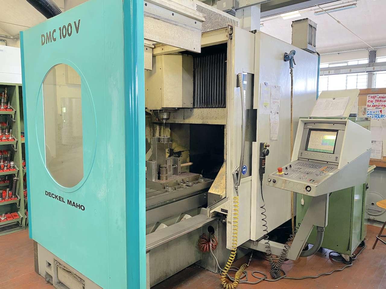 Gantry Milling Machine DECKEL MAHO DMC100V photo on Industry-Pilot