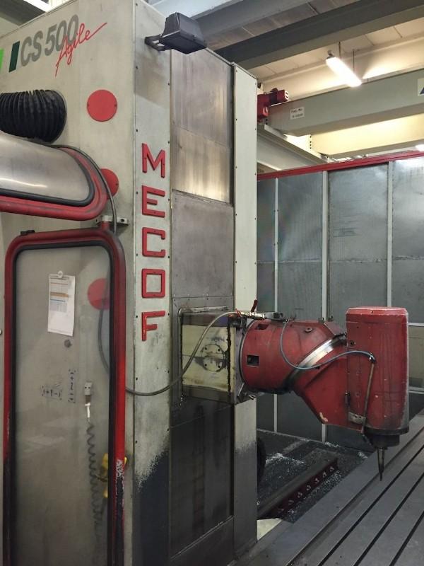 Фрезерный станок с подвижной стойкой MECOF CS500 Agile фото на Industry-Pilot