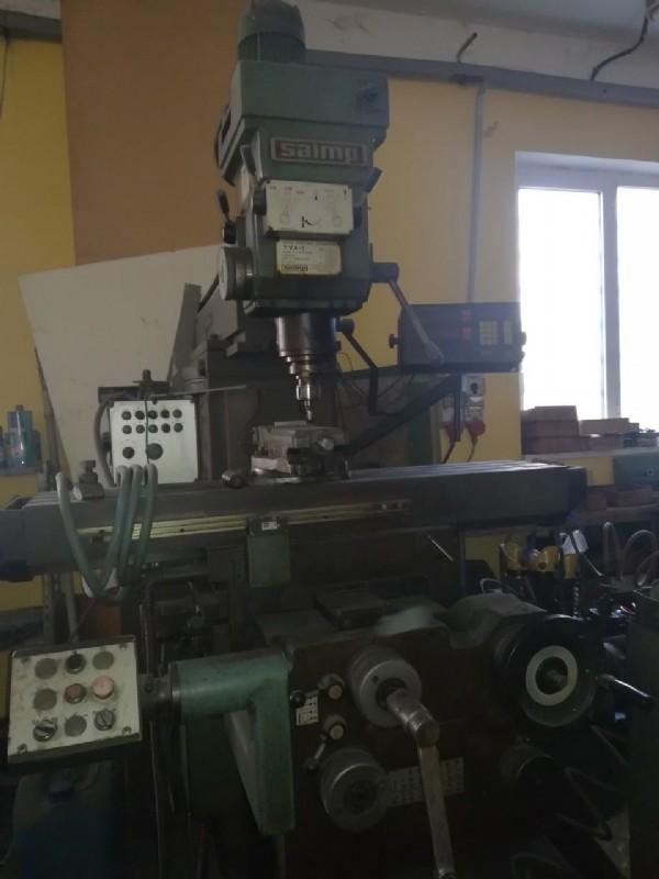 Фрезерный станок вертикальный CASER SAIMP MF2 фото на Industry-Pilot