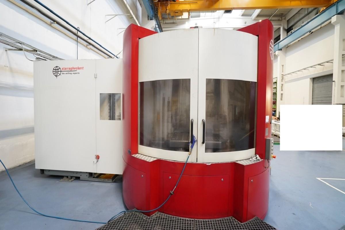 Обрабатывающий центр - горизонтальный STARRAG HECKERT HEC 800 H/V Athletic фото на Industry-Pilot