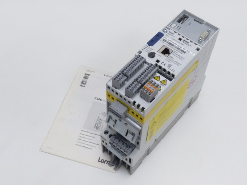 Frequenzumrichter Lenze 8400 Highline C E84AVHCE5514SB0 400V 0,55kw Safety + Profibus UNUSED Bilder auf Industry-Pilot