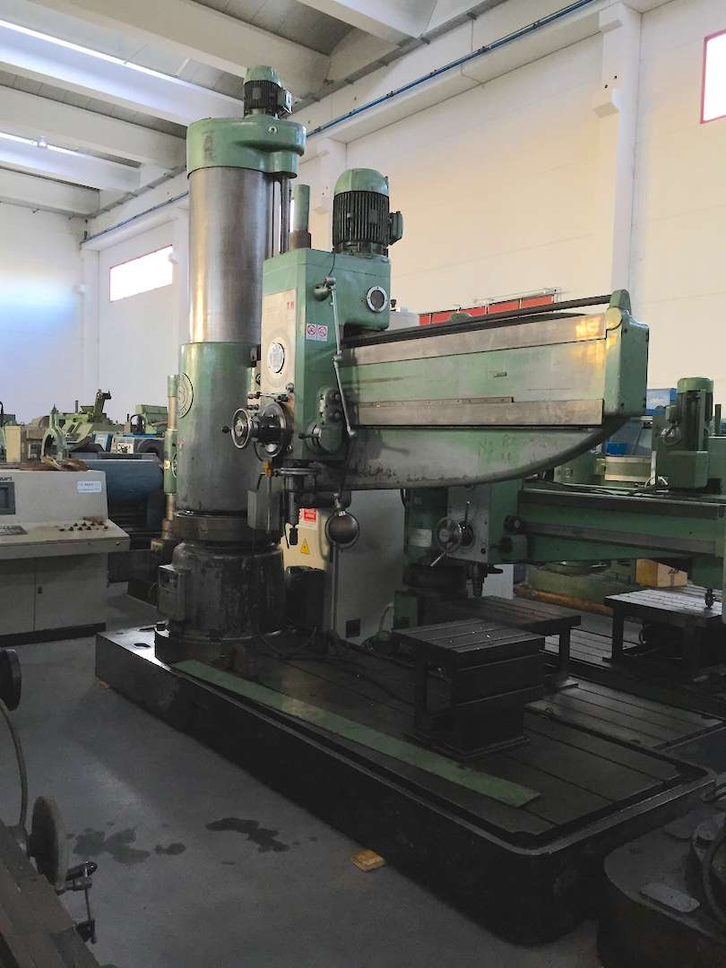 Radial Drilling Machine SASS MT2500 photo on Industry-Pilot