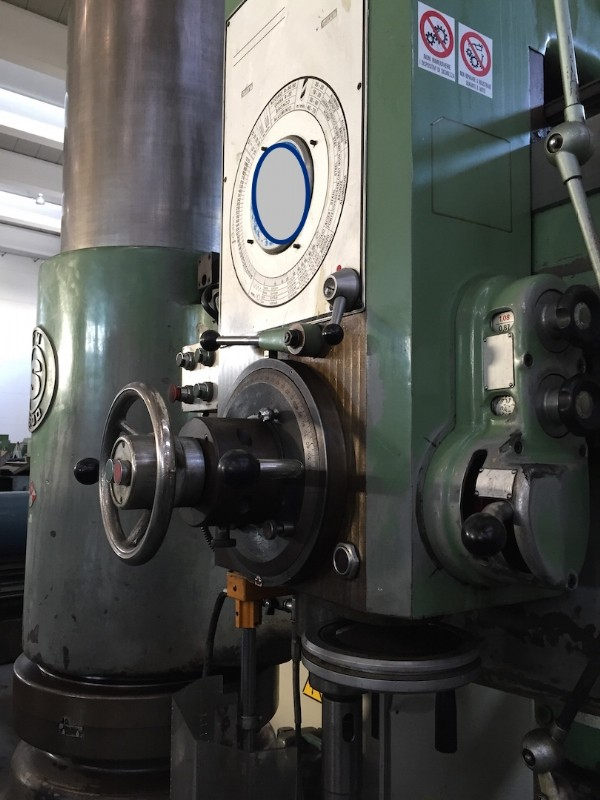 Радиально-сверлильный станок SASS MT2500 фото на Industry-Pilot