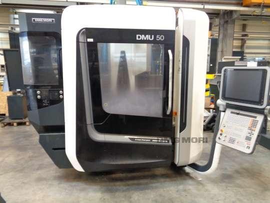 Обрабатывающий центр - универсальный DMG MORI DMU 50 фото на Industry-Pilot