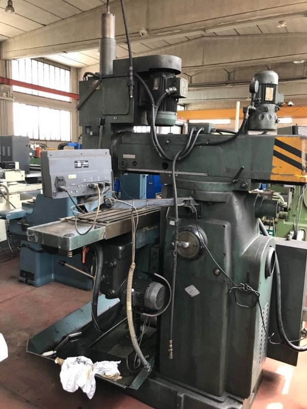 Milling Machine - Universal RAMBAUDI MS3P photo on Industry-Pilot