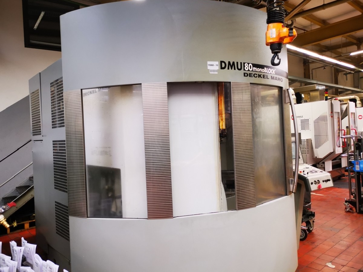 Обрабатывающий центр - универсальный DECKEL- MAHO DMG DMU 80 mono BLOCK фото на Industry-Pilot