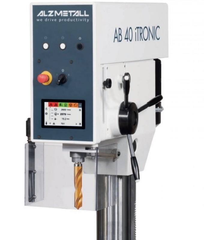 Сверлильный станок со стойками ALZMETALL AB 40 iTRONIC фото на Industry-Pilot