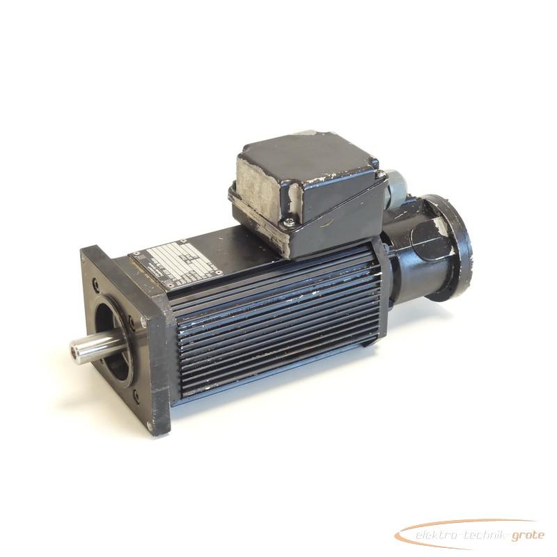Servo motor Baldor BSM 3R.-2-4/20-B14 Servomotor Id.Nr. 18579 SN:BCDUJ6659 photo on Industry-Pilot