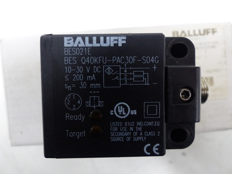 Sensor Balluff Inductive Sensor BES021E BES Q40KFU-PAC30F-S04G photo on Industry-Pilot