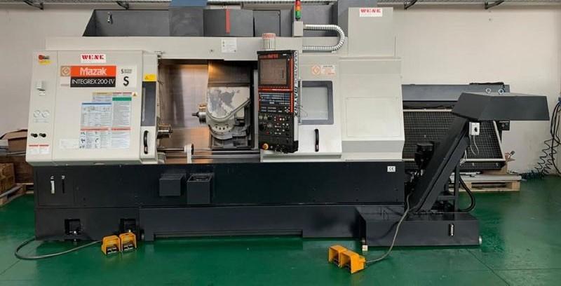 CNC Turning and Milling Machine MAZAK Integrex 200 IV photo on Industry-Pilot